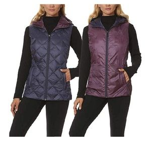 Reversible Gerry Packable Hiking Down vest  small